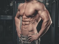 Man's Abs Six-Pack Stomach