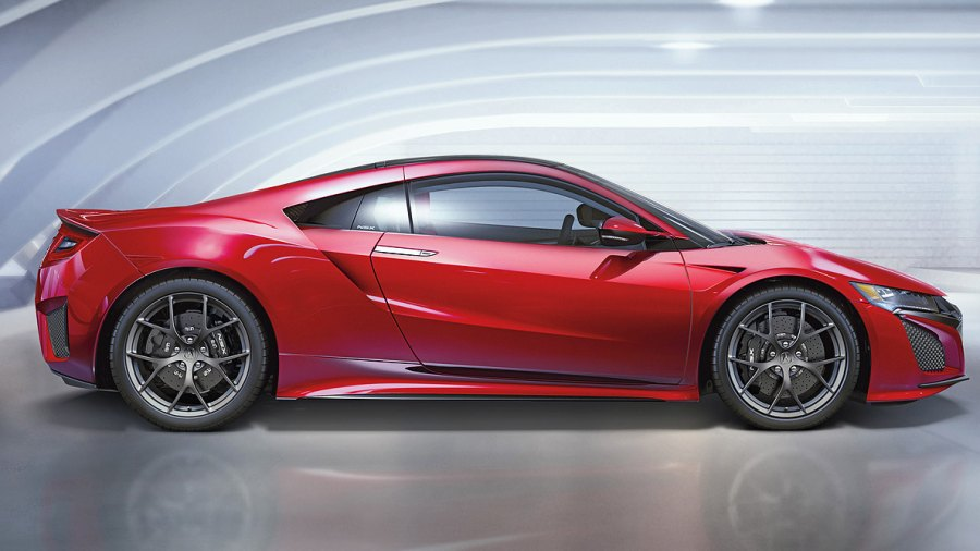 The Red Devil Rides Again: Meet the New Acura NSX