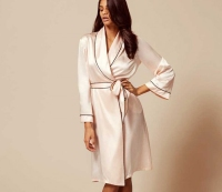 Classic Pink Dressing Gown – Agent Provocateur