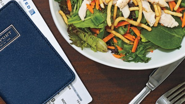 What to order at airport restaurants