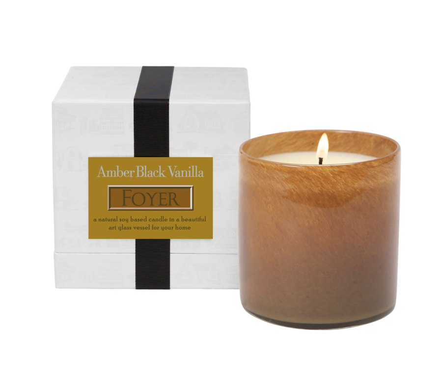 Amber Black Vanilla Foyer LAFCO House & Home Candle