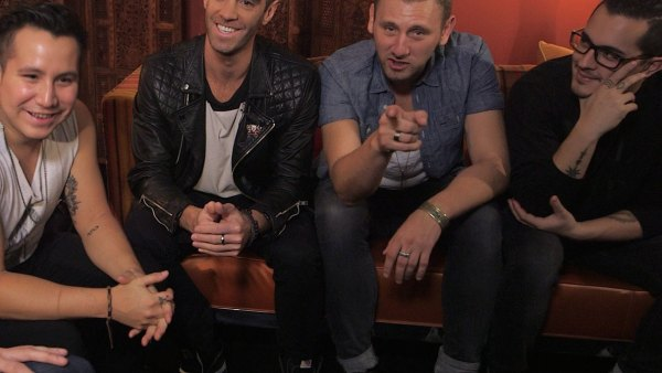 Backstage with American Authors