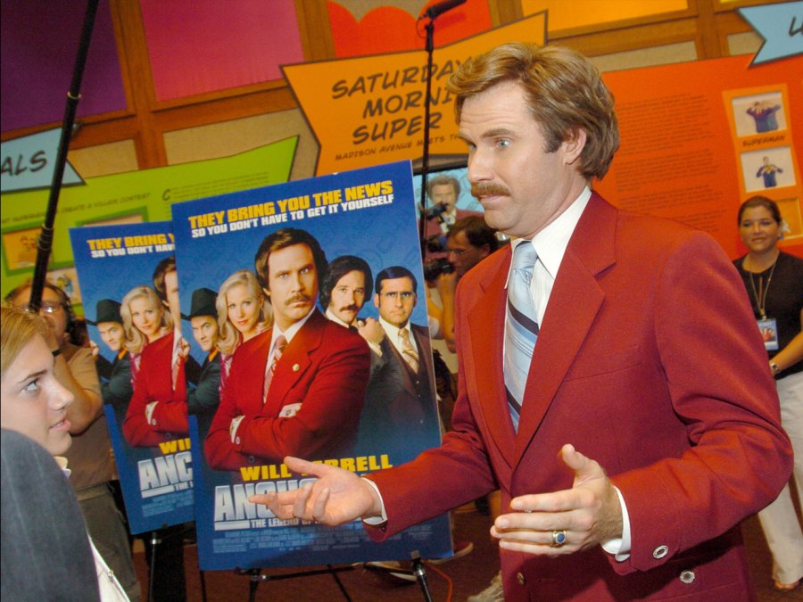Anchorman film, Will Ferrell, best quotes