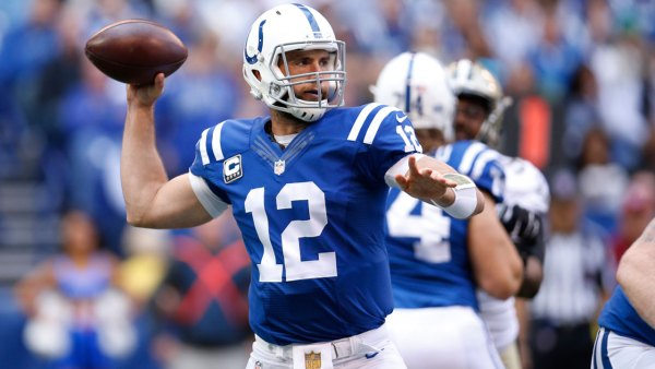 Andrew Luck of the Indianapolis Colts