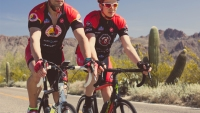 This Triathlete Beat Colon Cancer—and Now He's Cycling Across the Country