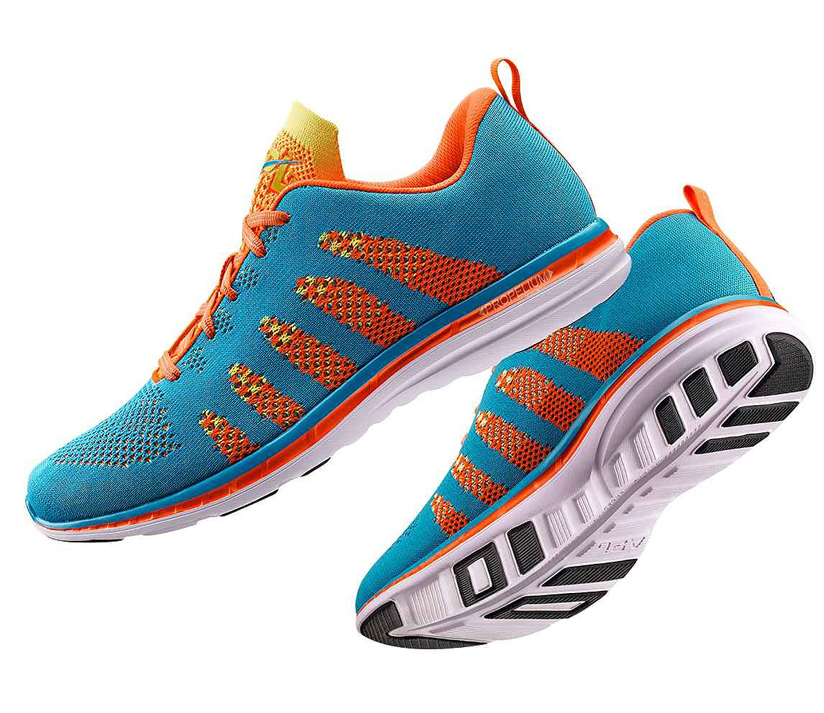 Running stylish shoes video
