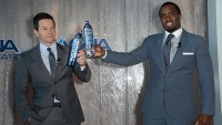 Sean Combs, Mark Wahlberg Launch Fitness Water Brand