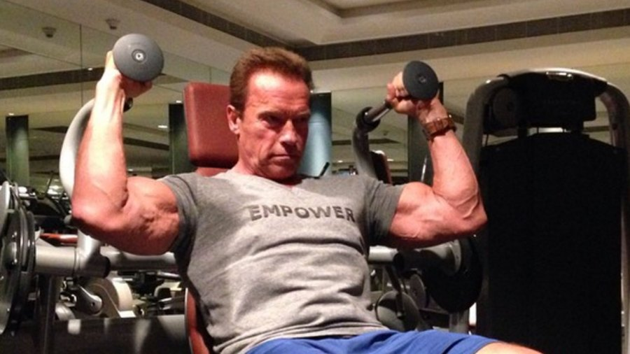10 Times Arnold Schwarzenegger Pumped up Instagram With His Epic Workouts