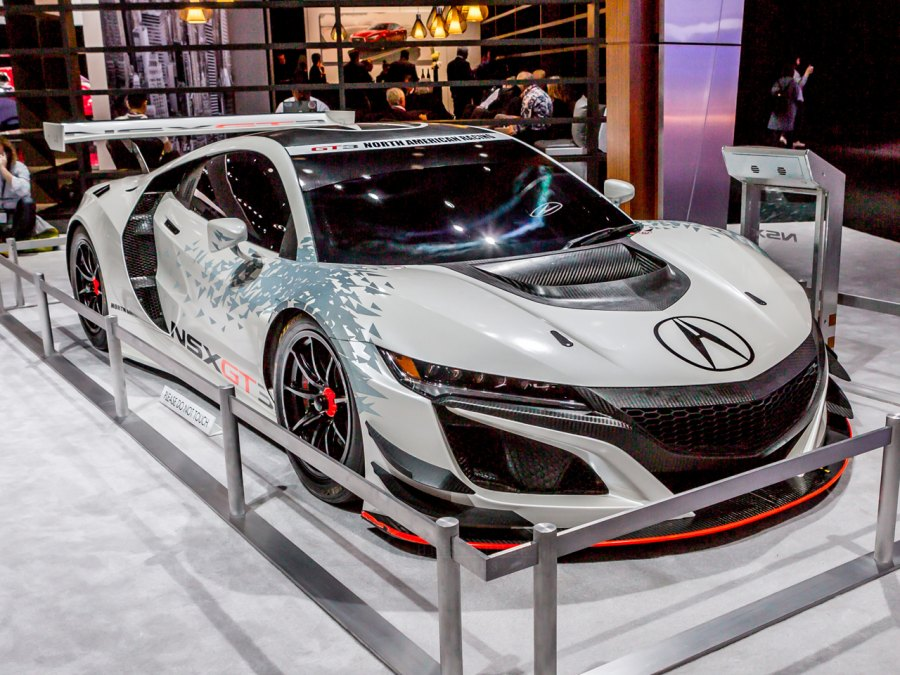 Acura NSX GT3 at 2017 New York Auto Show