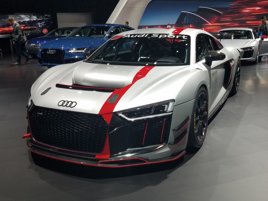 Audi R8 LMS GT4 At 2017 New York Auto Show
