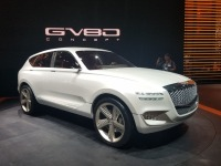 Genesis GV80 Concept At The 2017 New York International Auto Show