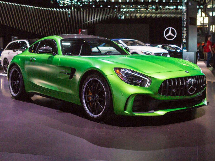 Mercedes-AMG GT R At 2017 New York Auto Show