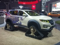 Modified Nissan Rogue At The 2017 New York Auto Show