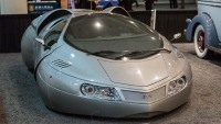 1987 Space Car At The New York International Auto Show In New York