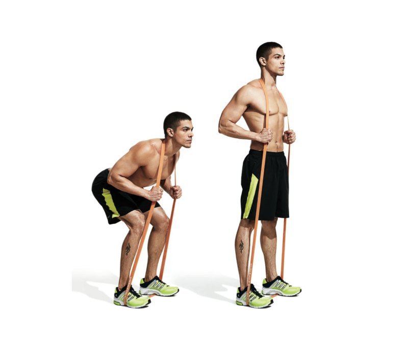 8 Resistance Band Workouts For A Total Body Shape Up Men S Journal
