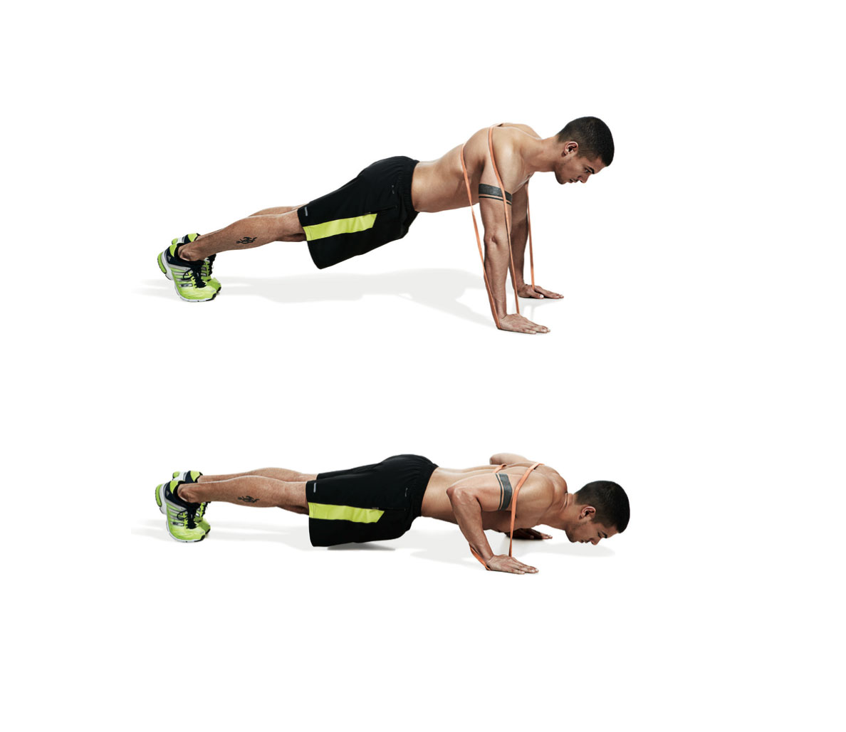 Mens Resistance Band Workout Routine Workoutwalls