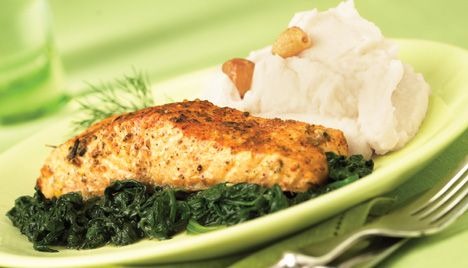 Baked Salmon in 20 Minutes