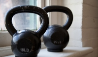 The Bar and Kettlebell Fat Burn Workout