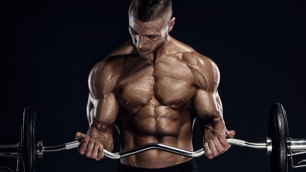 Build big arms in four weeks