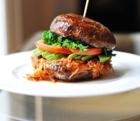 4. Paleo BBQ pulled pastured duck and kale sandwich