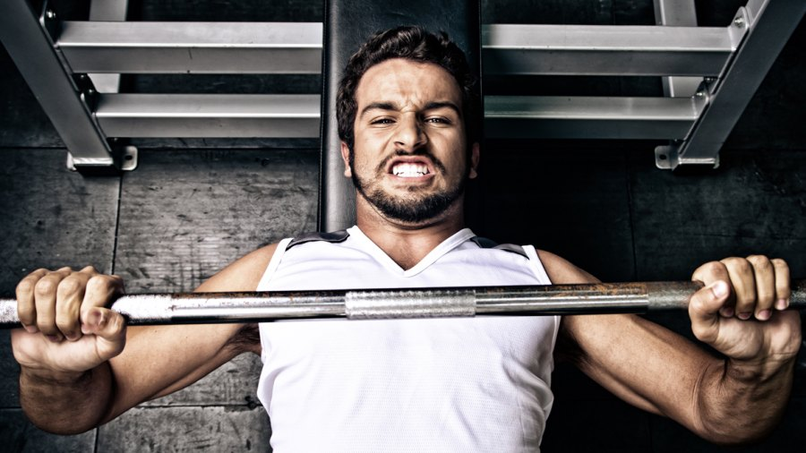 Here's How to Improve Your Bench Press With Your Back
