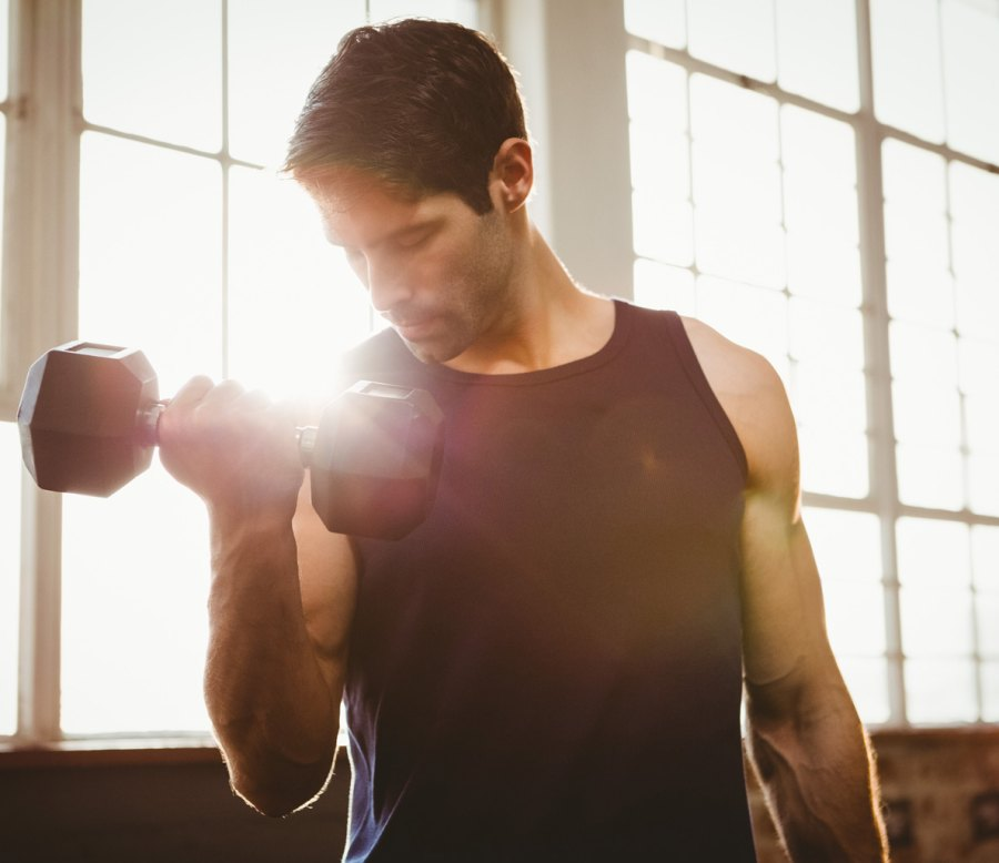 Mistake 2: Training your arms every day