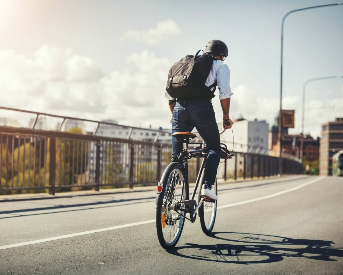 Image result for biking to work