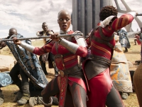 Florence Kasumba stars in Black Panther