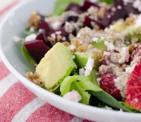 Blood Orange Salad with Walnut Dressing