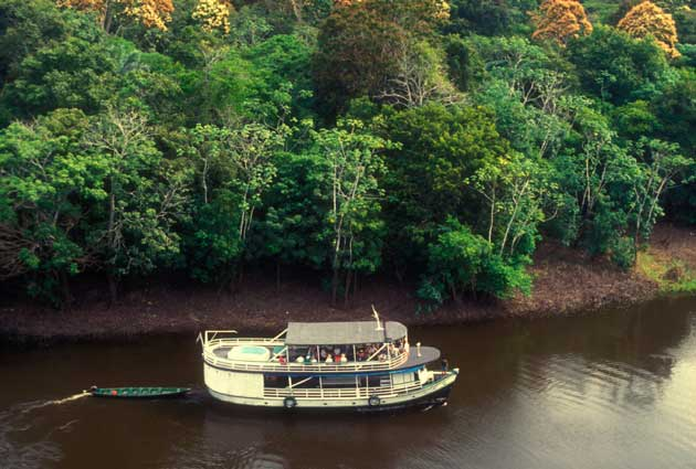 12. Boat the Amazon