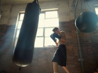 Heavy Bag Punch
