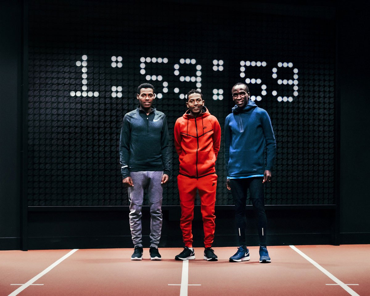 911e5ee35678a Breaking2 results  Nike athletes miss sub 2-hour marathon