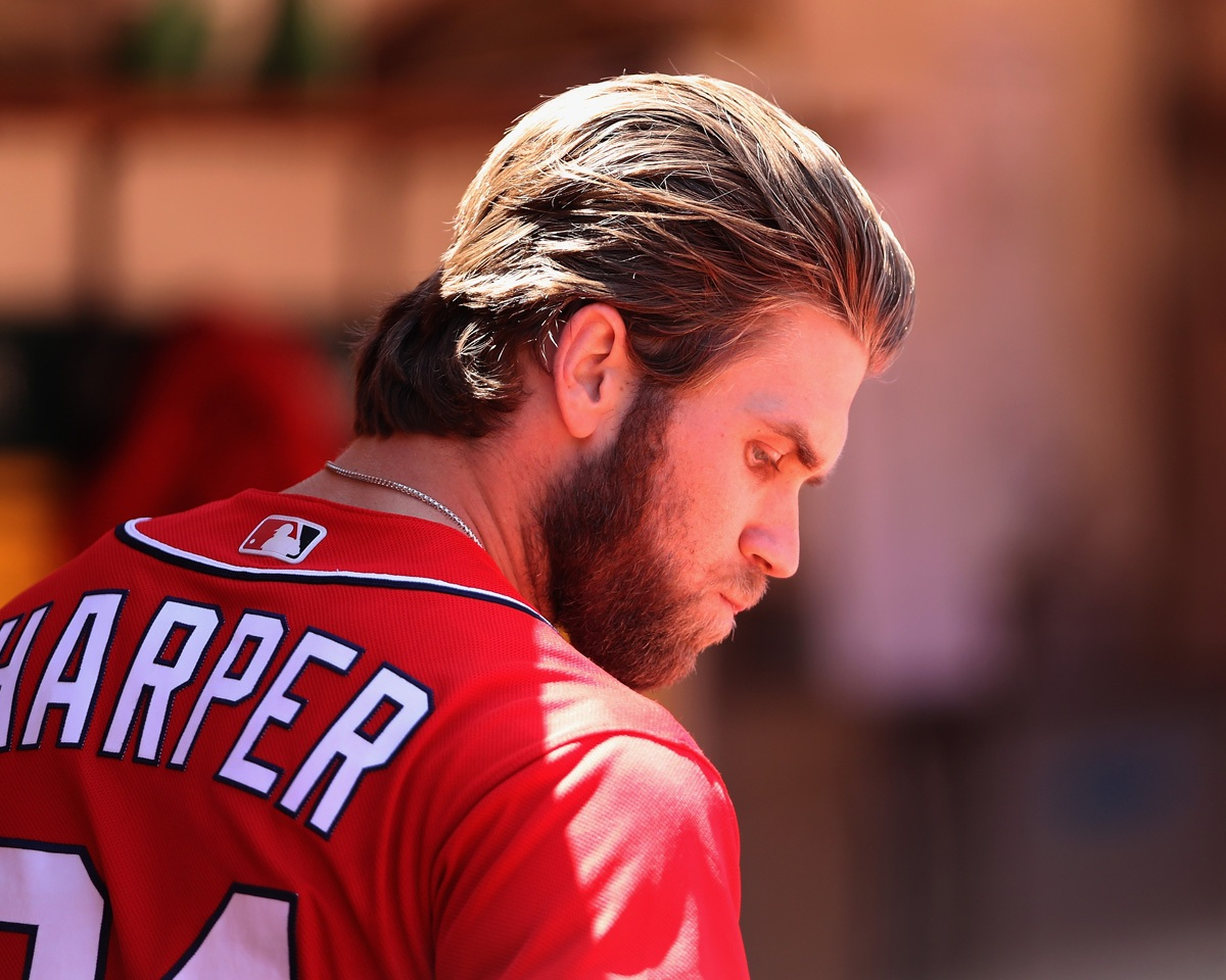 Photo Mlbs Bryce Harper Takes Cupping Therapy To A New Level