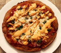 3. Recipe: Buffalo Chicken Pizza