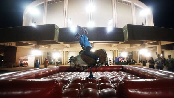How to ride a mechanical bull