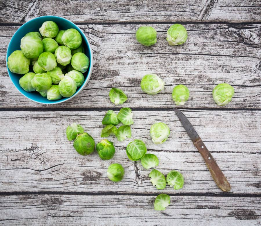 7. Brussels sprouts