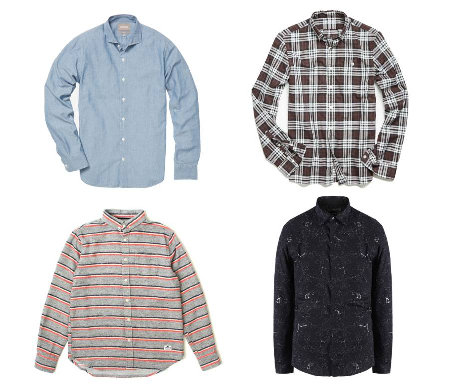 12 New Button-Front Shirts for Men