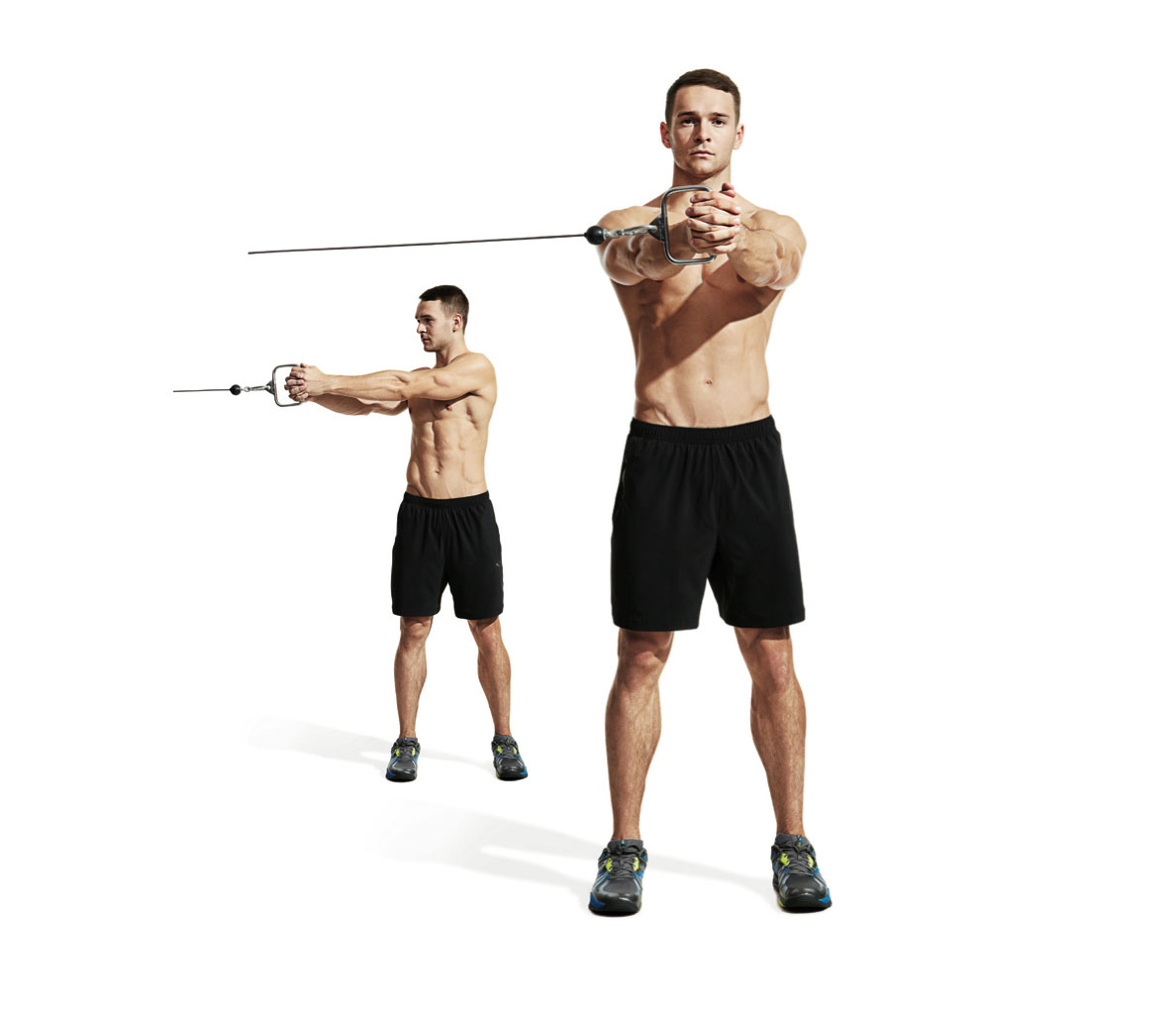 Six Pack Abs Workout 10 Cable Exercises For Your Core