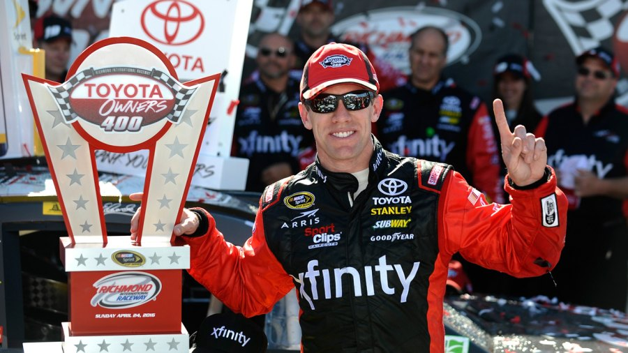 NASCAR Star Carl Edwards on the Training and Nutritional Routine That Keeps Him Ridiculously Fit