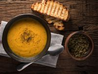 Creamy Carrot and Cauliflower Soup