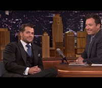 "Henry Cavill Reveals His Favorite Steamy Cardio Workout on ""The Tonight Show"""