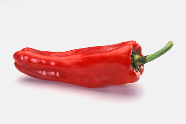 10. Hot peppers