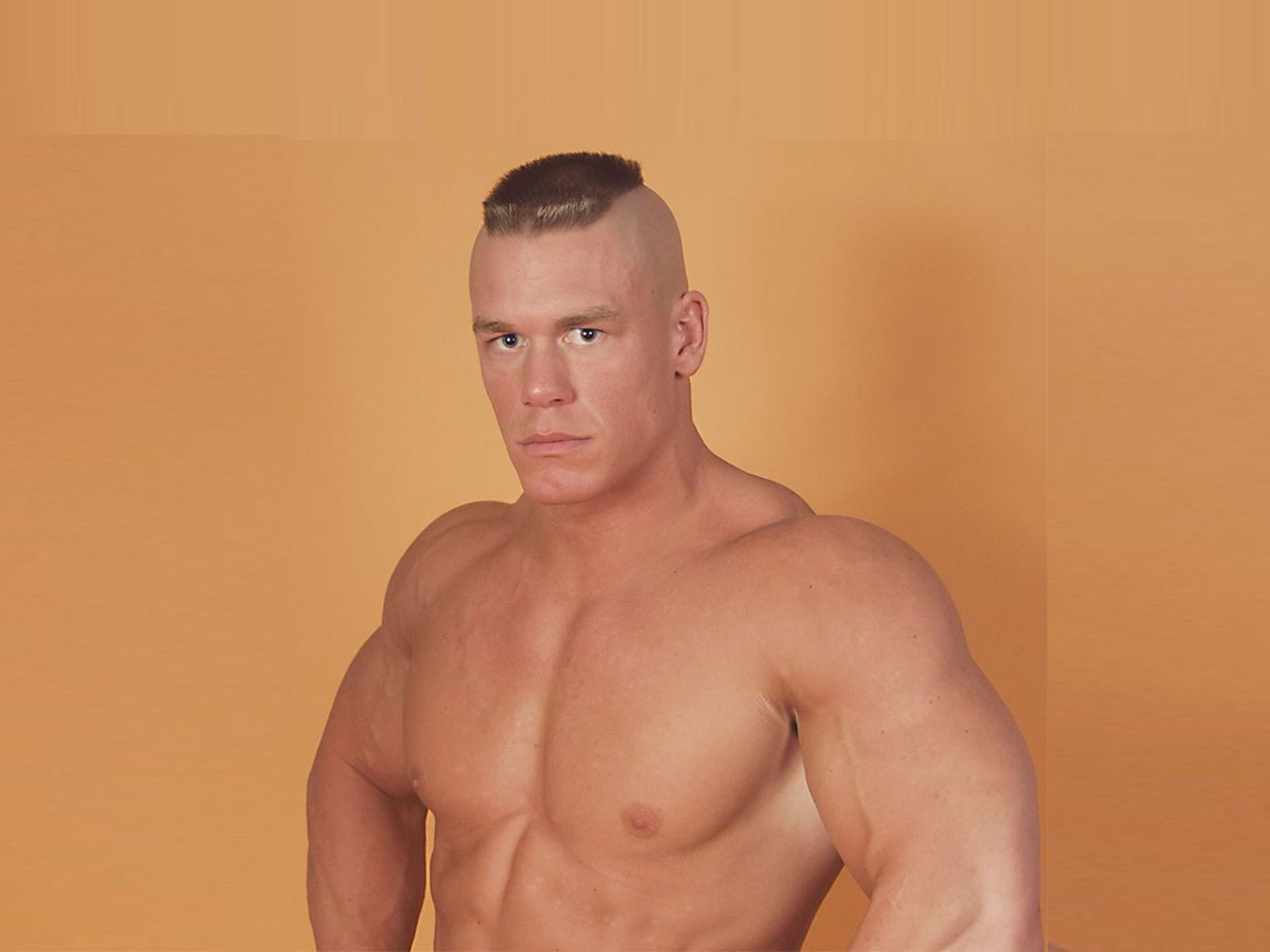 John Cena's Most Iconic Photos From 2001 to 2017