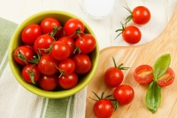 Snack on cherry tomatoes