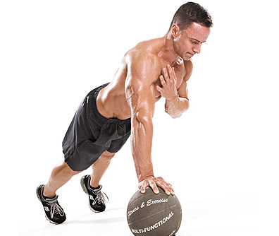 10-Minute Chest and Tri Workout