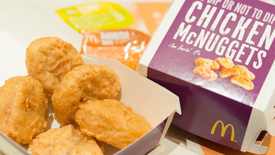 "McDonald's Is Introducing a ""Cleaner"" McNugget—that Doesn't Contain 32 Ingredients"