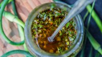 How to Make Scape Chimichurri