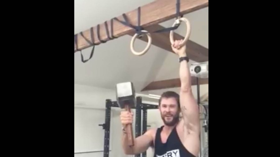Thor's hammer approves of this workout.