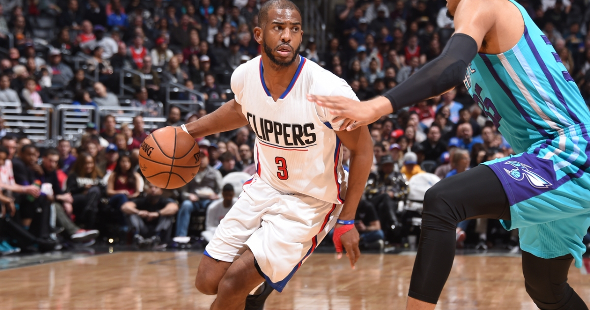 online store 11bfe 50974 Chris Paul's Love of Competition and Fitness
