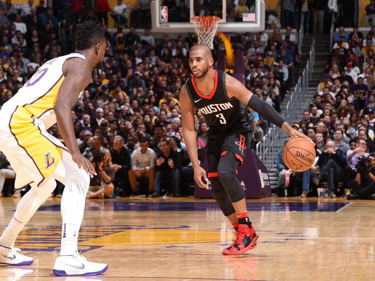NBA Star Chris Paul's Key Training Method for Staying Strong, and How the Rockets Can Challenge the Warriors